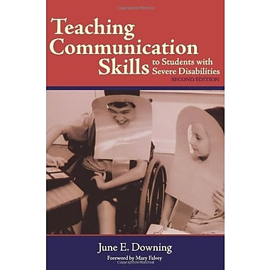Teaching Communication Skills to Students with Severe Disabilities, Second Edition, New Book, (9781557667557)