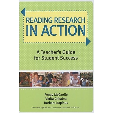 Reading Research in Action: A Teacher's Guide for Student Success, Used Book, (9781557669643)