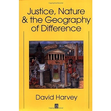Justice, Nature and the Geography of Difference, New Book, (9781557866813)