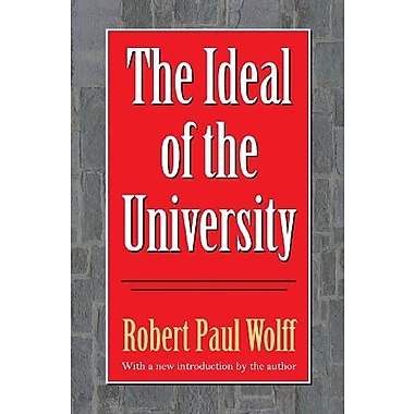 The Ideal of the University (Philanthropy and Society), Used Book, (9781560006039)