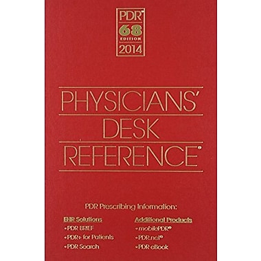 Physicians' Desk Reference 2014 (Physicians' Desk Reference (Pdr)), New Book, (9781563638251)