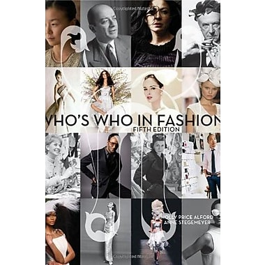 Who's Who in Fashion 5th Edition, New Book, (9781563677106)