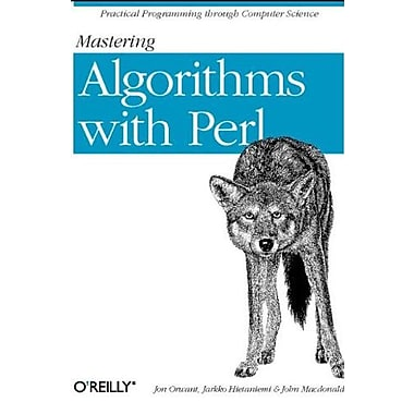 Mastering Algorithms with Perl, New Book, (9781565923980)