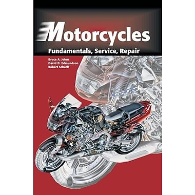 Motorcycles: Fundamentals, Service, Repair, New Book, (9781566374798)