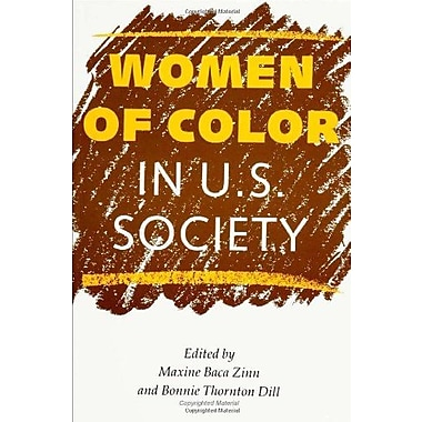 Women Of Color In U.S. Society, New Book, (9781566391061)