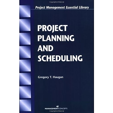 Project Planning and Scheduling (Project Management Essential Library.), Used Book, (9781567261363)