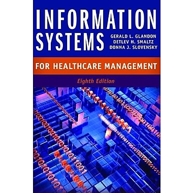 Information Systems for Healthcare Management, Eighth Edition, Used Book, (9781567935998)
