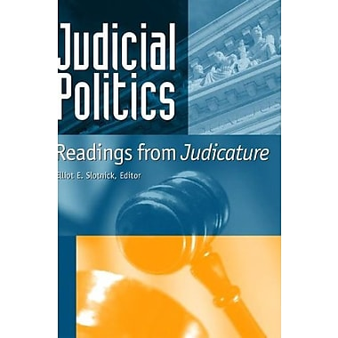 Judicial Politics: Readings From Judicature, 3rd Edition, New Book, (9781568029443)