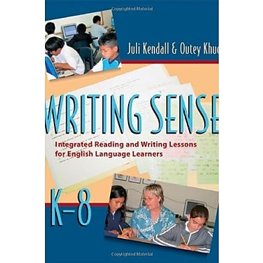 Writing Sense: Integrated Reading and Writing Lessons for English Language Learners, Used Book, (9781571104427)