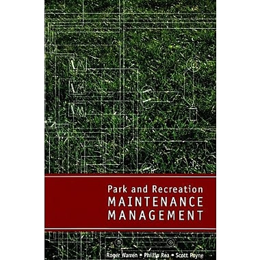 Park and Recreation Maintenance Management, New Book, (9781571675682)