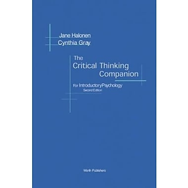The Critical Thinking Companion for Introductory Psychology, Used Book, (9781572598829)