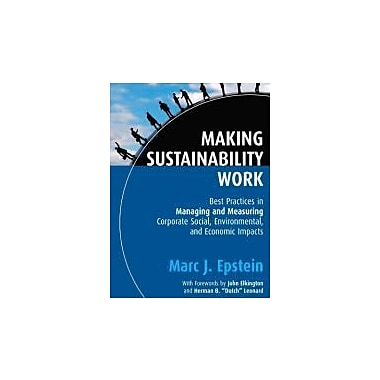 Making Sustainability Work (Business), Used Book, (9781576754863)