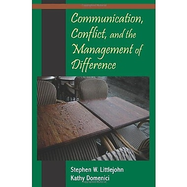 Communication, Conflict, and the Management of Difference, Used Book, (9781577665038)