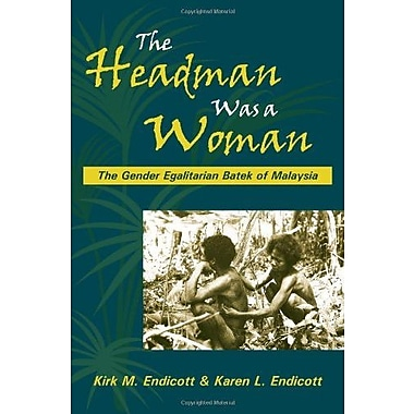 The Headman Was a Woman, New Book, (9781577665267)