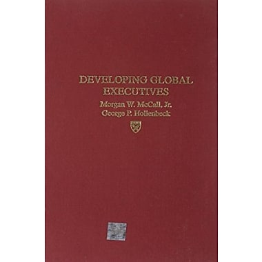 Developing Global Executives, New Book, (9781578513369)