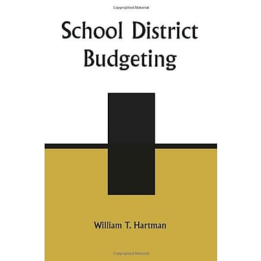 School District Budgeting, New Book, (9781578860685)