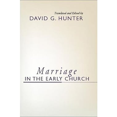 Marriage in the Early Church:, New Book, (9781579108274)