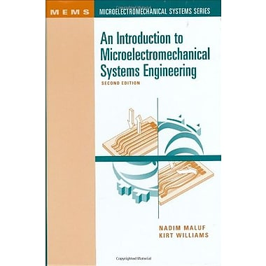 An Introduction to Microelectromechanical Systems Engineering, Second Edition, New Book, (9781580535908)