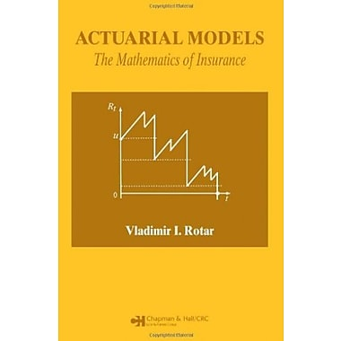 Actuarial Models: The Mathematics of Insurance, New Book, (9781584885863)