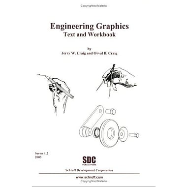 Engineering Graphics Text and Workbook (Series 1.2), New Book, (9781585031337)
