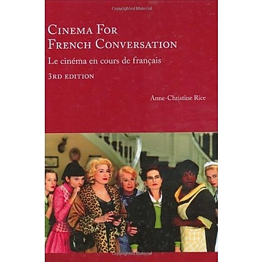 Cinema for French Conversation, 3rd Edition (French Edition), New Book, (9781585102686)