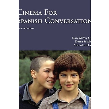 Cinema for Spanish Conversation, 4th Edition (Spanish and English Edition), Used Book, (9781585107063)