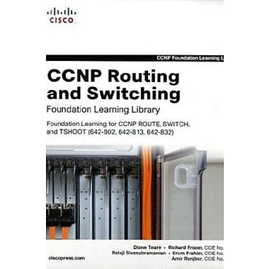 CCNP Routing and Switching Foundation Learning Library (Self-Study Guide), New Book, (9781587058851)