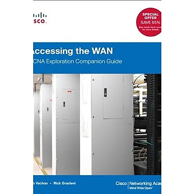 Accessing the WAN: CCNA Exploration Companion Guide (Cisco Networking Academy), Used Book, (9781587133497)