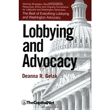 Lobbying and Advocacy, New Book, (9781587331008)