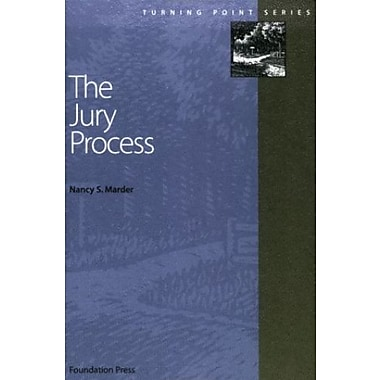 Marder's The Jury Process (Turning Point Series), Used Book, (9781587780219)