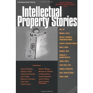 Ginsburg and Dreyfuss' Intellectual Property Stories (Stories Series) (Law Stories), New Book, (9781587787270)