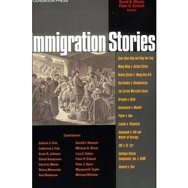 Immigration Stories, New Book, (9781587788734)