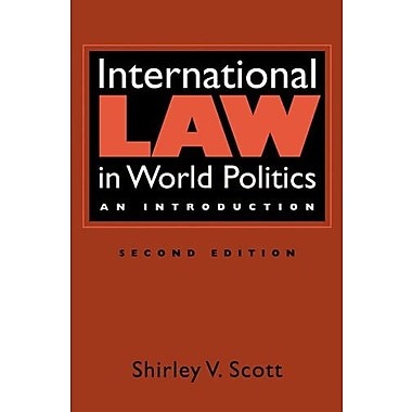 International Law in World Politics: An Introduction, Used Book, (9781588267450)