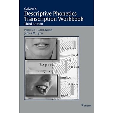 Descriptive Phonetics Transcription Workbook