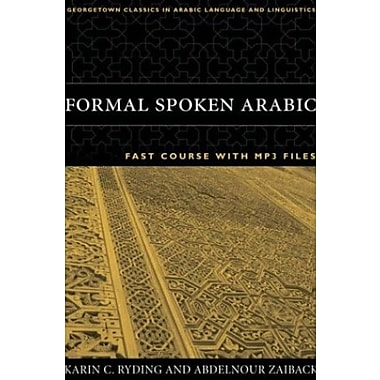 Formal Spoken Arabic FAST Course with MP3 Files (Arabic Edition), New Book, (9781589011069)