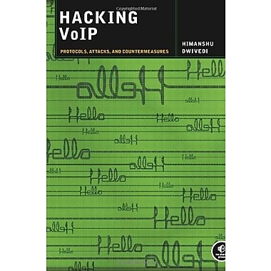 Hacking VoIP: Protocols, Attacks, and Countermeasures, New Book, (9781593271633)