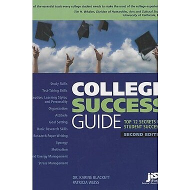 College Success Guide: Top 12 Secrets for Student Success, New Book, (9781593578534)
