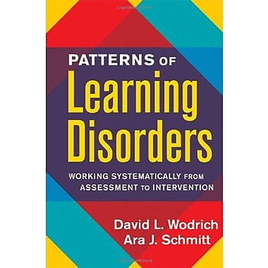 Patterns of Learning Disorders: Working Systematically from Assessment to Intervention, New Book, (9781593852016)