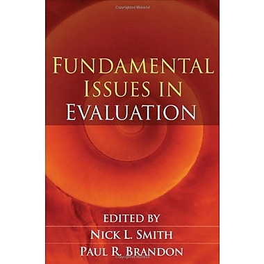 Fundamental Issues in Evaluation, New Book, (9781593853426)