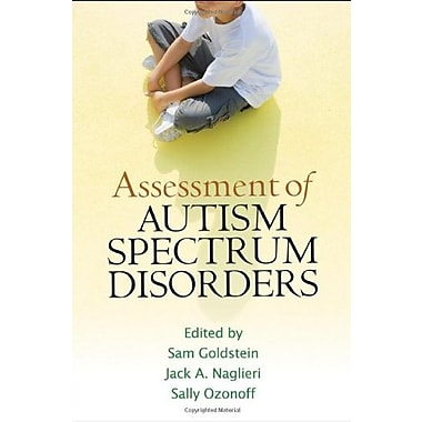 Assessment of Autism Spectrum Disorders, New Book, (9781593859831)