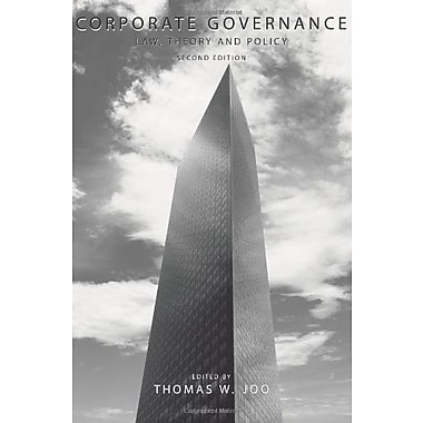 Corporate Governance: Law, Theory and Policy, Used Book, (9781594607394)