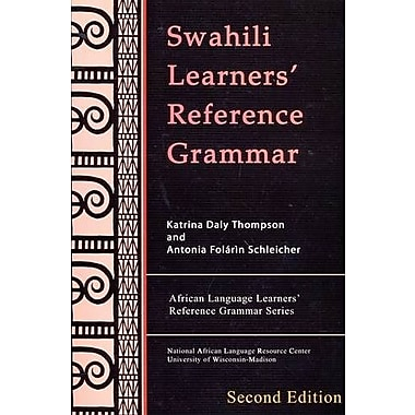 Swahili Learners' Reference Grammar, Used Book, (9781597030076)