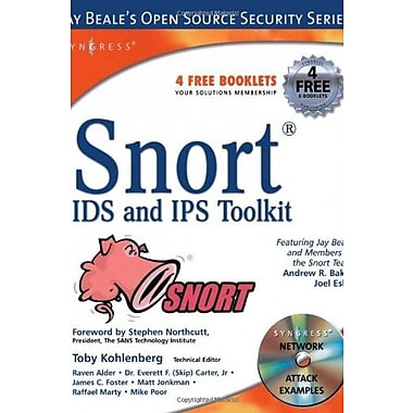 Snort IDS and IPS Toolkit (Jay Beale's Open Source Security), New Book, (9781597490993)