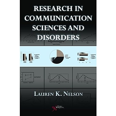 Research in Communication Sciences and Disorders: Methods for Systematic Inquiry (9781597562461)
