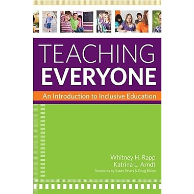 Teaching Everyone: An Introduction to Inclusive Education, New Book, (9781598572124)