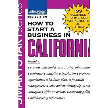How to Start a Business in California, New Book, (9781599180687)