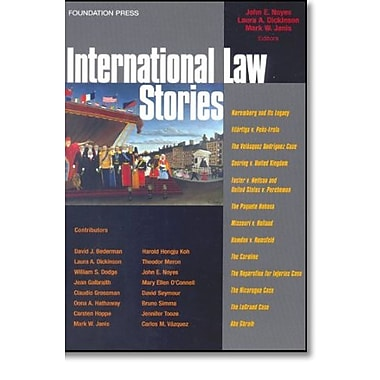 Noyes, Janis and Dickinson's International Law Stories (Stories Series), Used Book, (9781599410869)