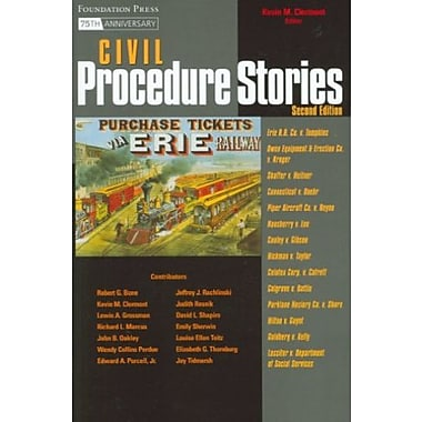 Clermont's Civil Procedure Stories, 2d (Stories Series) (Law Stories), New Book, (9781599413471)
