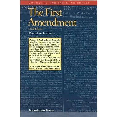 The First Amendment (Concepts and Insights), New Book, (9781599417516)
