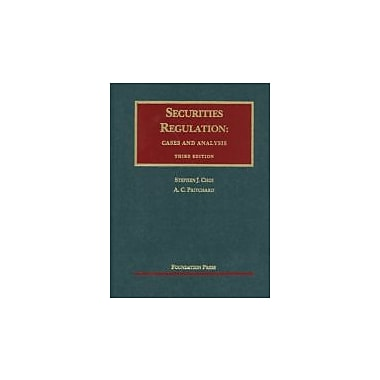 Securities Regulation: Cases and Analysis (University Casebook Series), New Book, (9781599419237)